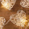 Wicker Heart - 20 Lamps